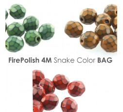 Firepolish 4mm Grapeade Galaxy Blue BAG