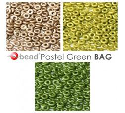 O bead ® Pastel Green BAG