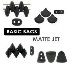 BASIC BAGS Matte Metallic Flax