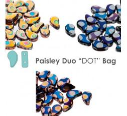 Paisley Duo Dotted & Striped & Batik BAG