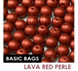 BASIC BAGS Lava Red Perle
