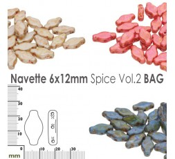 Navette 6x12mm Spice Vol.1 BAG