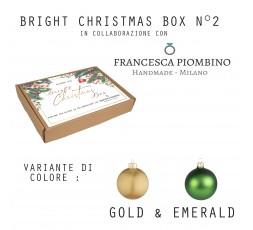 BRIGHT CHRISTMAS BOX N°2 - Gold&White