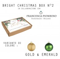 BRIGHT CHRISTMAS BOX N°2 - Gold&White