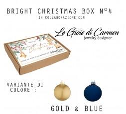 BRIGHT CHRISTMAS BOX N°4 - Gold&Blue