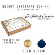 BRIGHT CHRISTMAS BOX N°4 - Gold&Blue