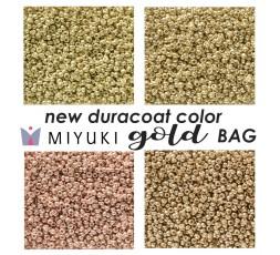 Miyuki New Duracoat Color Gold BAG