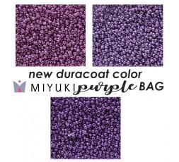 Miyuki New Duracoat Color Purple BAG