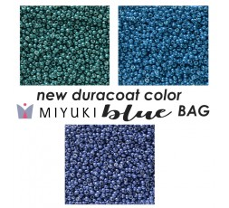 Miyuki New Duracoat Color Blue BAG