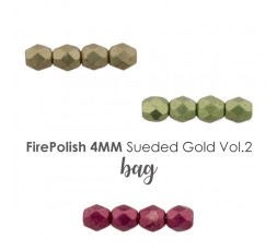 Firepolish 4mm Sueded Gold VOL.2 BAG