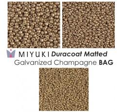 Miyuki Matted Duracoat Galvanized Silver BAG
