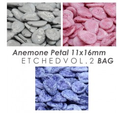 Anemone Petal 11x16mm Etched Vol.1 BAG