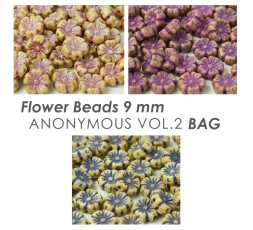 Flower Beads 9 mm ANONYMOUS Vol.1 BAG