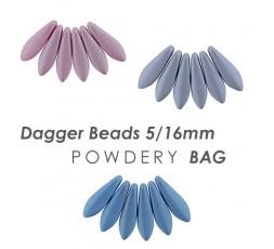 Dagger Beads 5/16mm Powdery BAG