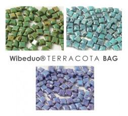 Wibeduo® 8 x 8 mm Terracota BAG