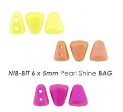 NIB-BIT 6 x 5mm Pearl Shine BAG
