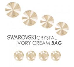 SWAROVSKI Crystal Ivory Cream BAG