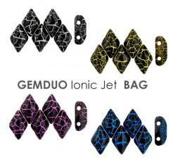 Gemduo 8x5mm Ionic Jet BAG